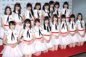 NGT48(2015年10月撮影、Getty Images)
